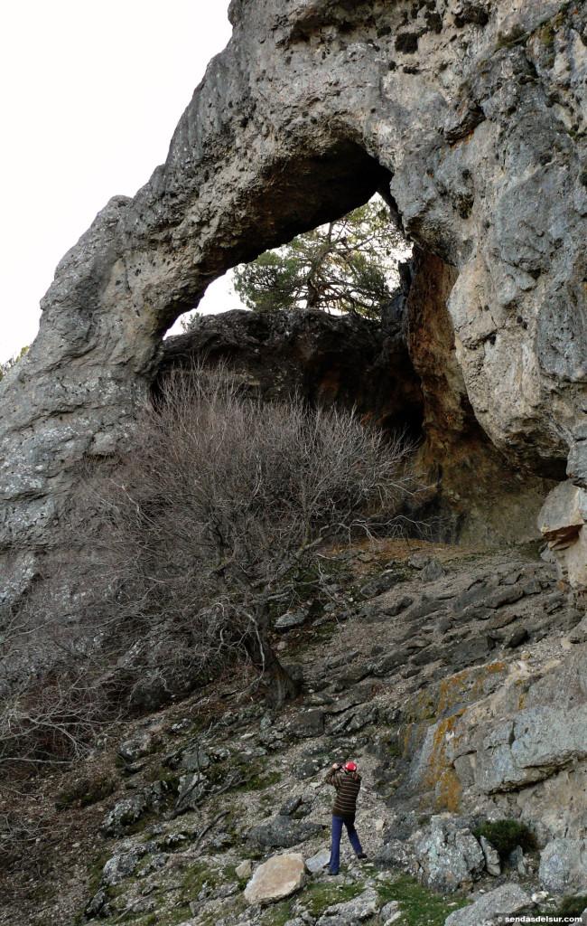 Arco natural en el Tranco del Lobo