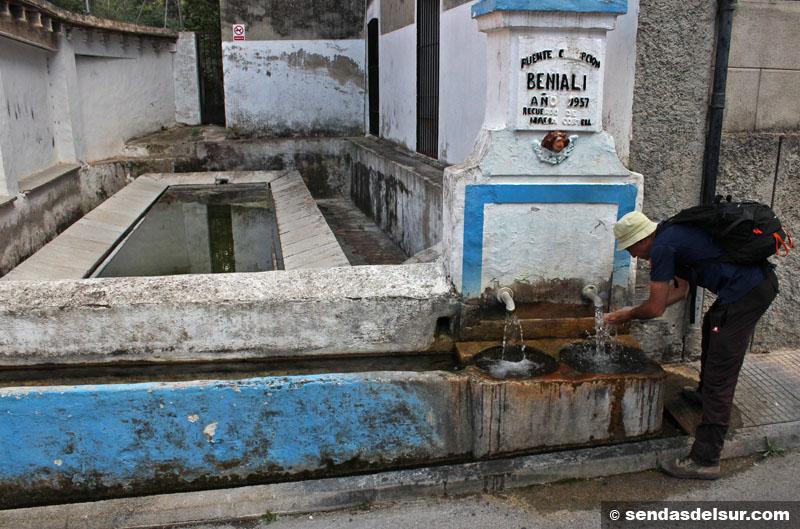 Fuente y lavadero de Benialí