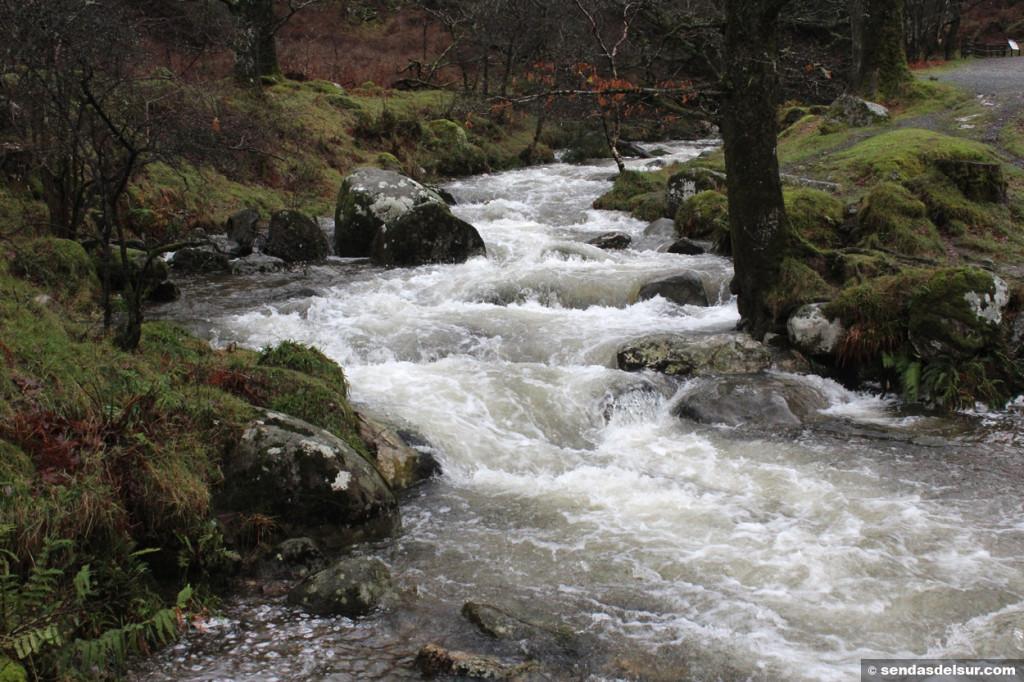 El agua es la gran protagonista del recorrido